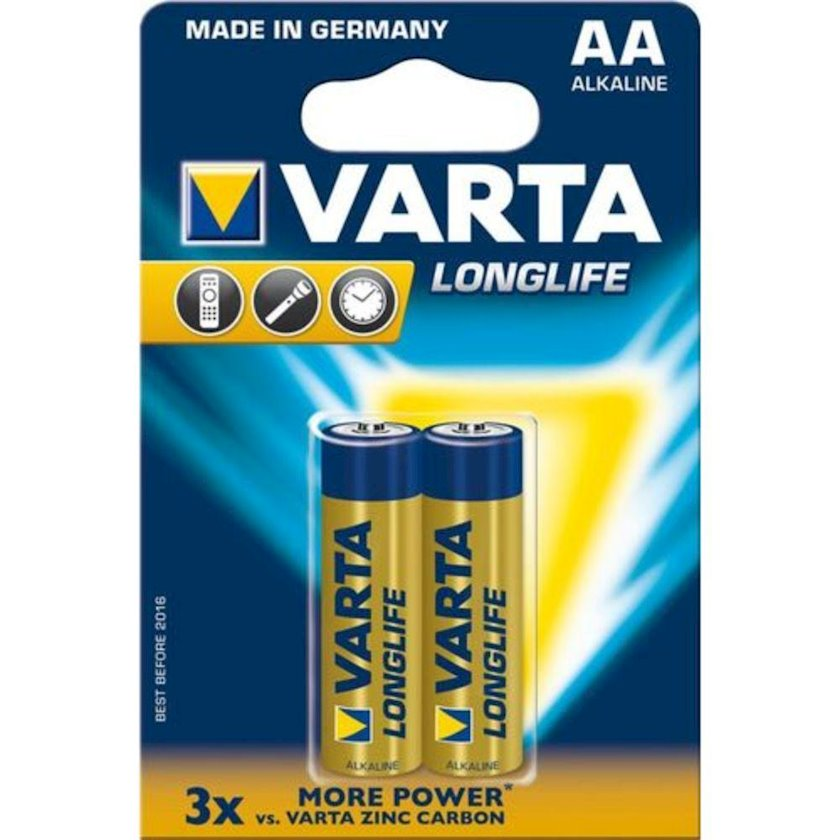 Batareya Varta Longlife Extra LR06 AA, 2 əd