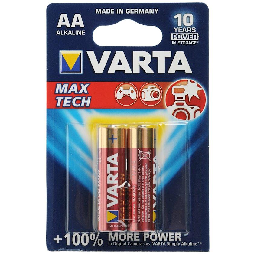Batareya Varta Max Tech 4706 LR6 AA, 2 əd