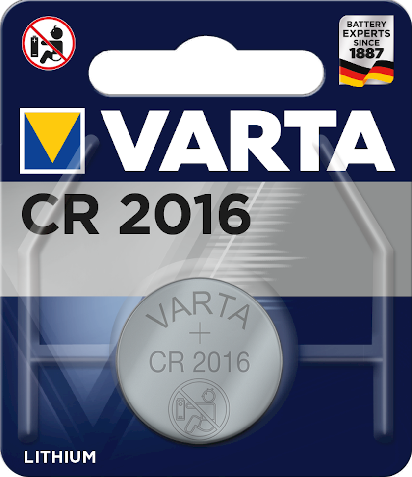 Batareya Varta CR2016 BLI 1 3V, 1 əd