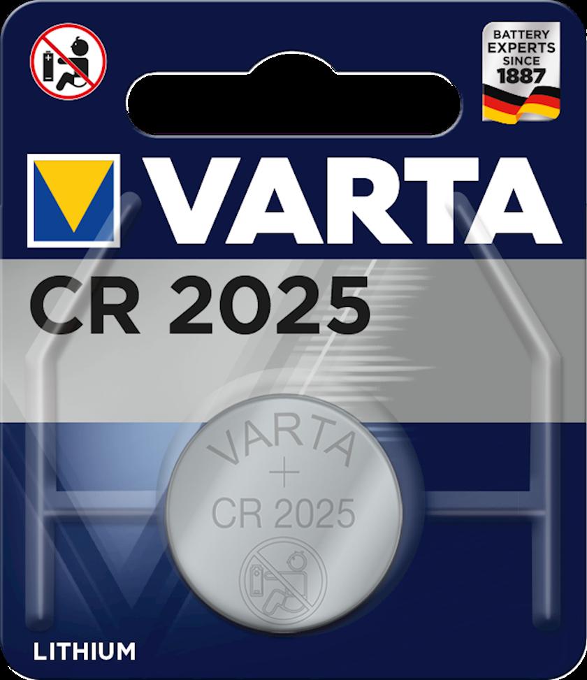 Batareya Varta CR2025 BLI 1 3V, 1 əd