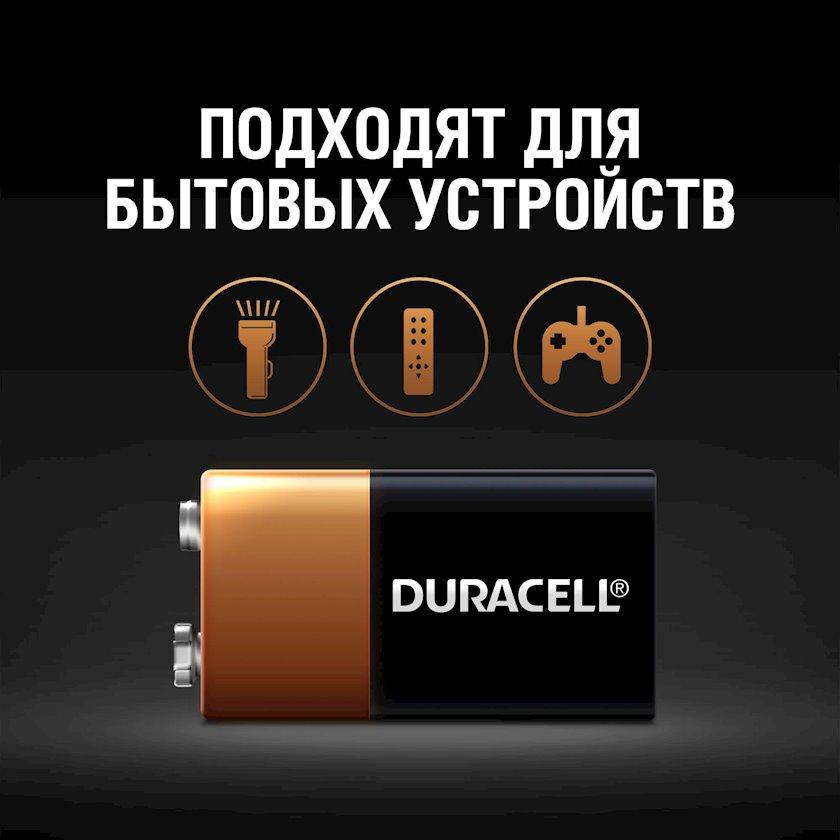 Batareya Duracell 6LR61 MN1604 9V, 1 əd