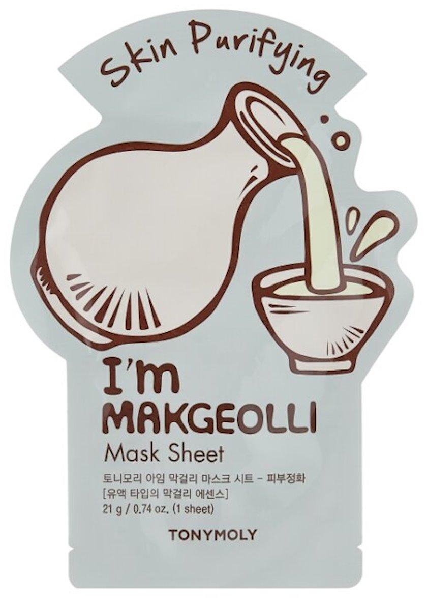Parça maska Tony Moly I'm Real Makgeolli Mask Sheet
