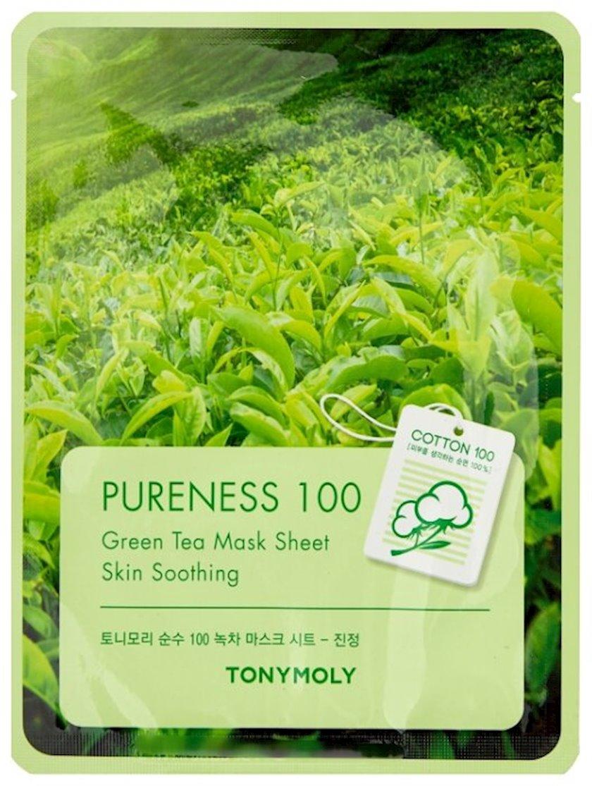 Parça maska Tony Moly Pureness 100 Green Tea Mask Sheet