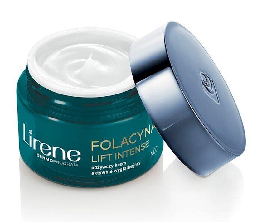 Gecə üz kremi Lirene Folacin Lift Intense Night Cream 50 ml