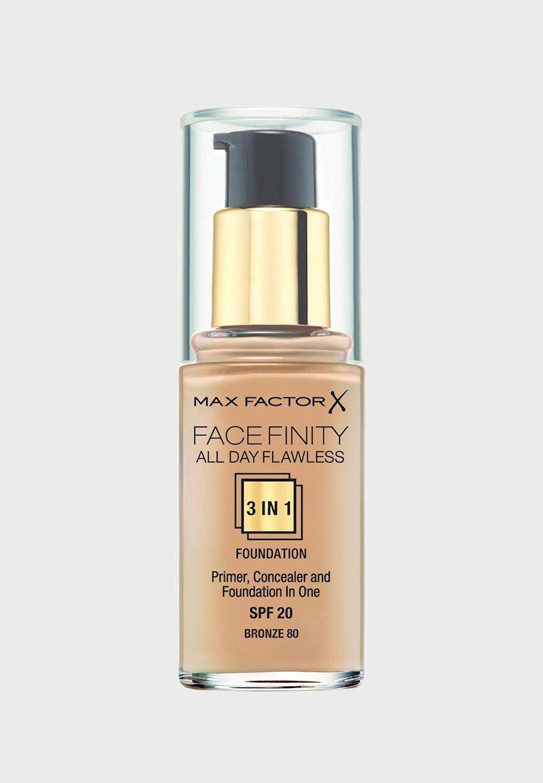 Tonal krem Max Factor  Flawless Liquid Foundation 3-ü-1 №80 Bronze 30 ml