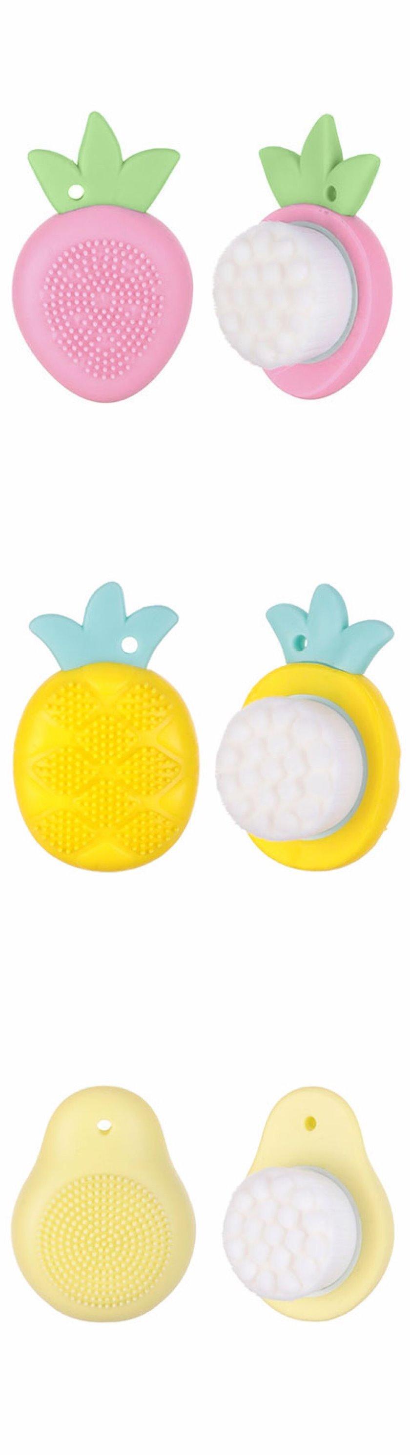 Üz üçün təmizləyici fırça Miniso Fruit Series Facial Cleansing Brus(Pineapple)
