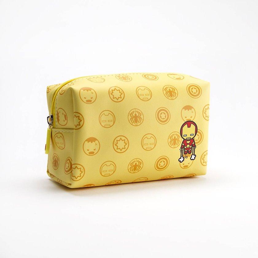 Kosmetika çantası Miniso Marvel, Sarı