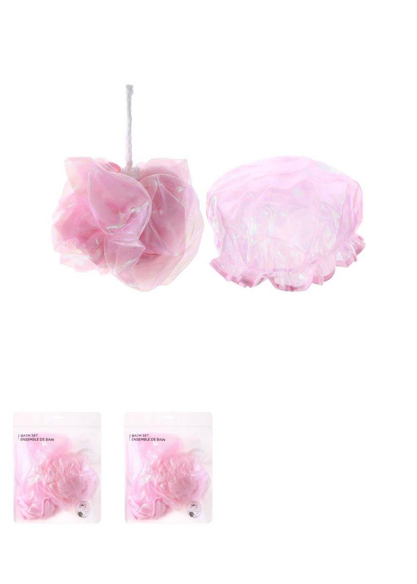 Bədən üçün lif dəsti Miniso Pink Set