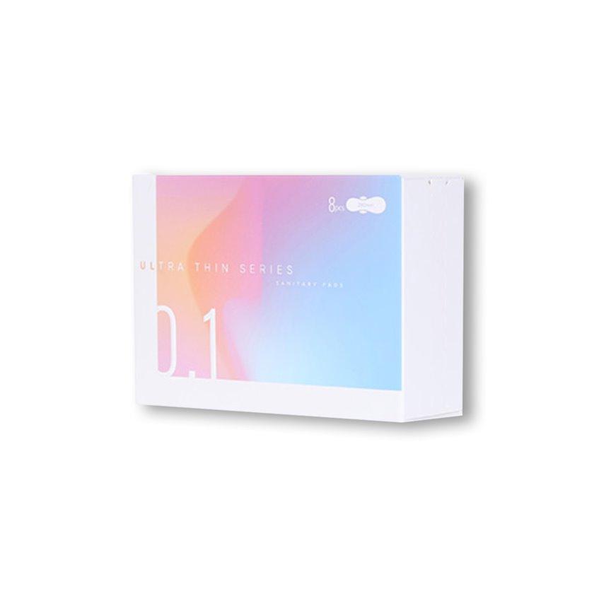 Gündəlik bezləri Miniso Ultra Thin Series 400mm Sanitary Pads, 8 ədəd