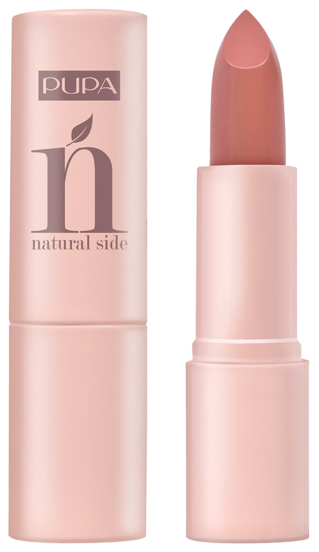 Dodaq pomadası Pupa Natural Side 001 Natural Nude