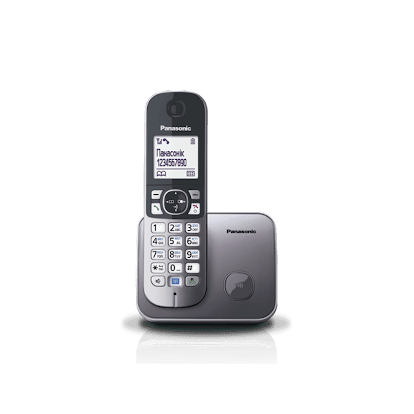 Radiotelefon Panasonic KX-TG6811UAM Metallic