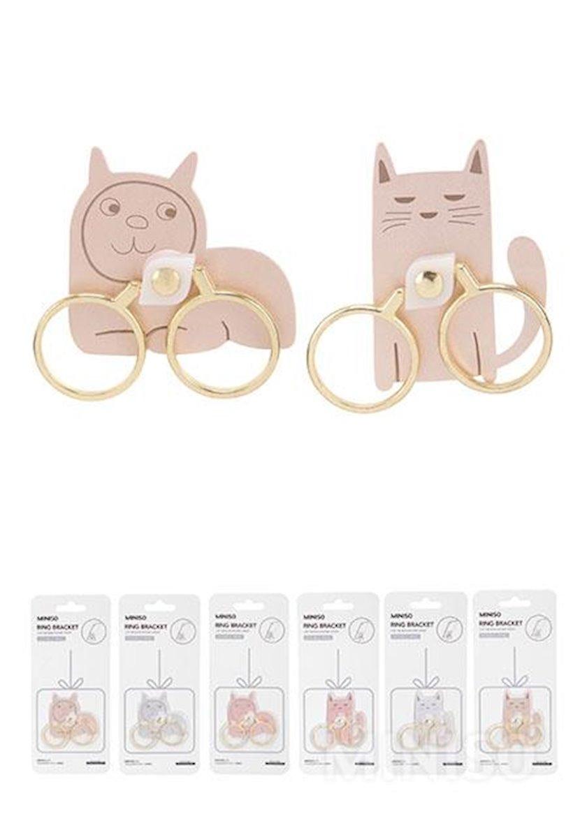 Telefon üçün tutacaq halqa Miniso Cat Ring Bracket