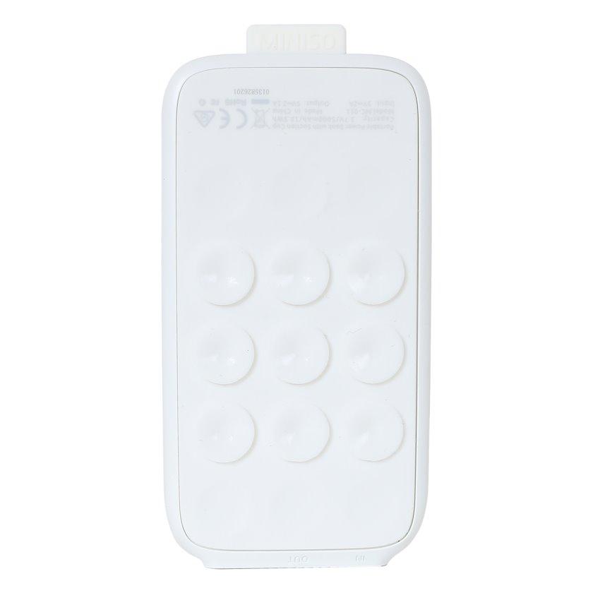 Portativ enerji toplama cihazı Miniso Portable Power Bank with Suction Cup 5000mAhModel: MC-011 (White)