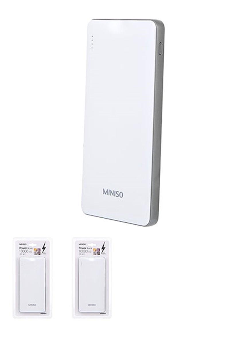 Portativ enerji toplama cihazı Miniso QC Power Bank 10000mAh Model: BST-011Q(White)