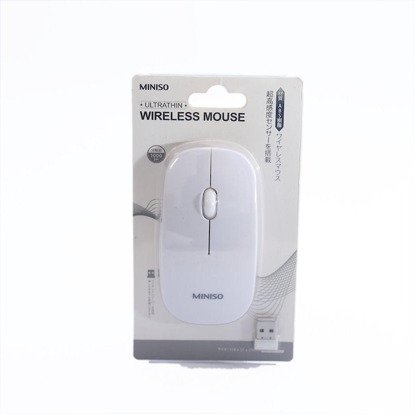 Kompüter üçün sıçan Miniso Ultrathin Wireless Mouse Model:WM-287 (White)