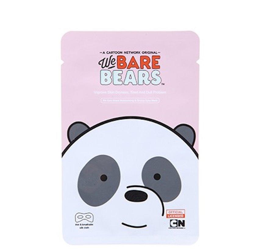 Göz ətrafı üçün nəmləndirici maska Miniso We Bare Bears Glossy Eyes Mask