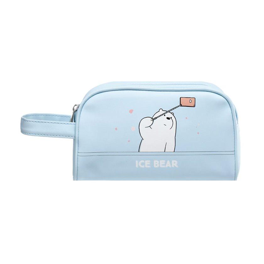 Kosmetika çantası Miniso We Bare Bears Ice Bear