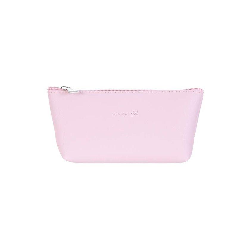 Kosmetika çantası Miniso Simple Trapezoid, Çəhrayı