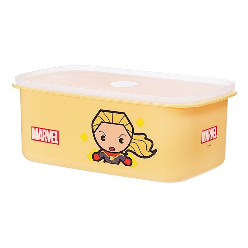 Konteyner Miniso Marvel, Kapitan Amerika, həcm 950 ml, rəng narıncı