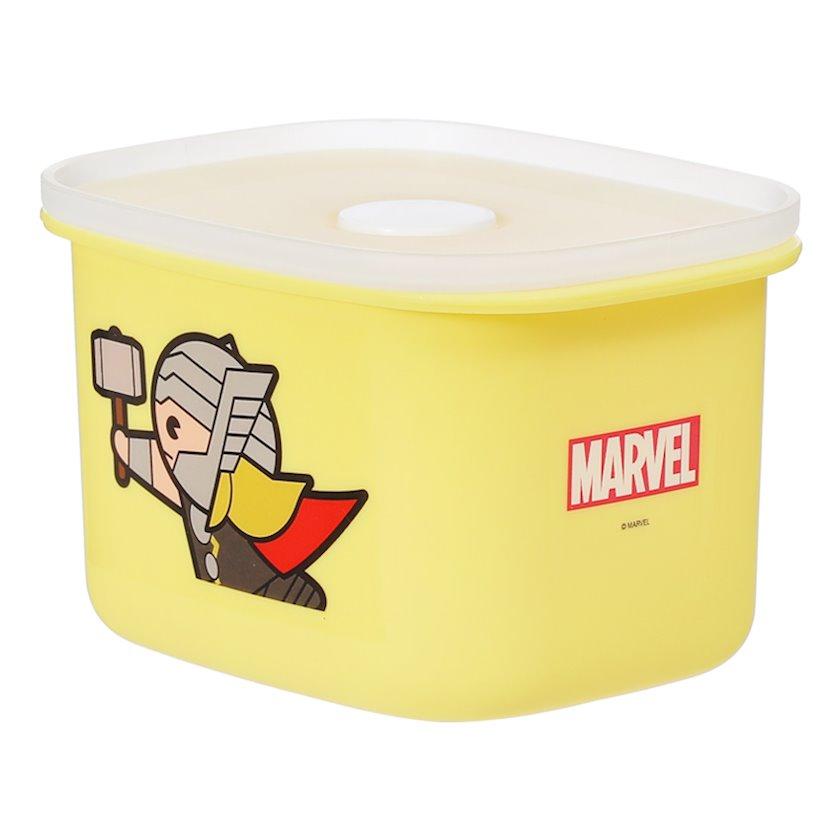 Konteyner Miniso Marvel, Tor, həcm 400 ml, rəng sarı