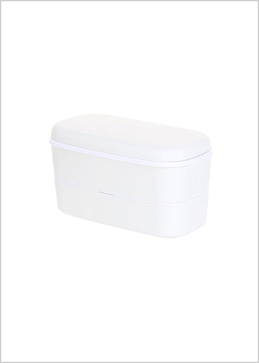 Konteyner Miniso, ikili, həcm 650 ml, rəng xaki