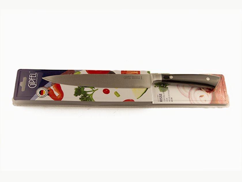 Mətbəx bıçağı Gipfel RISSE 9867 20sm. Tiyənin materialı: paslanmayan polad 3Cr13. Qulpun materialı: plastik