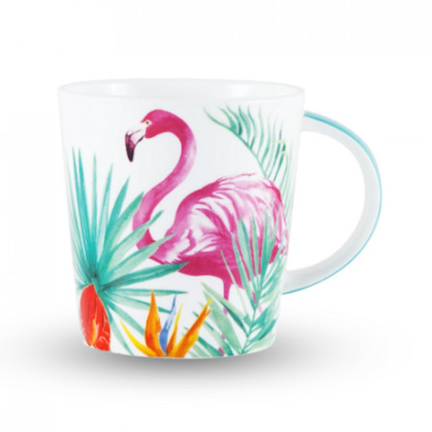 Fincan Gipfel Flamingo Rosa 3898 450ml. Material: sümük farforu
