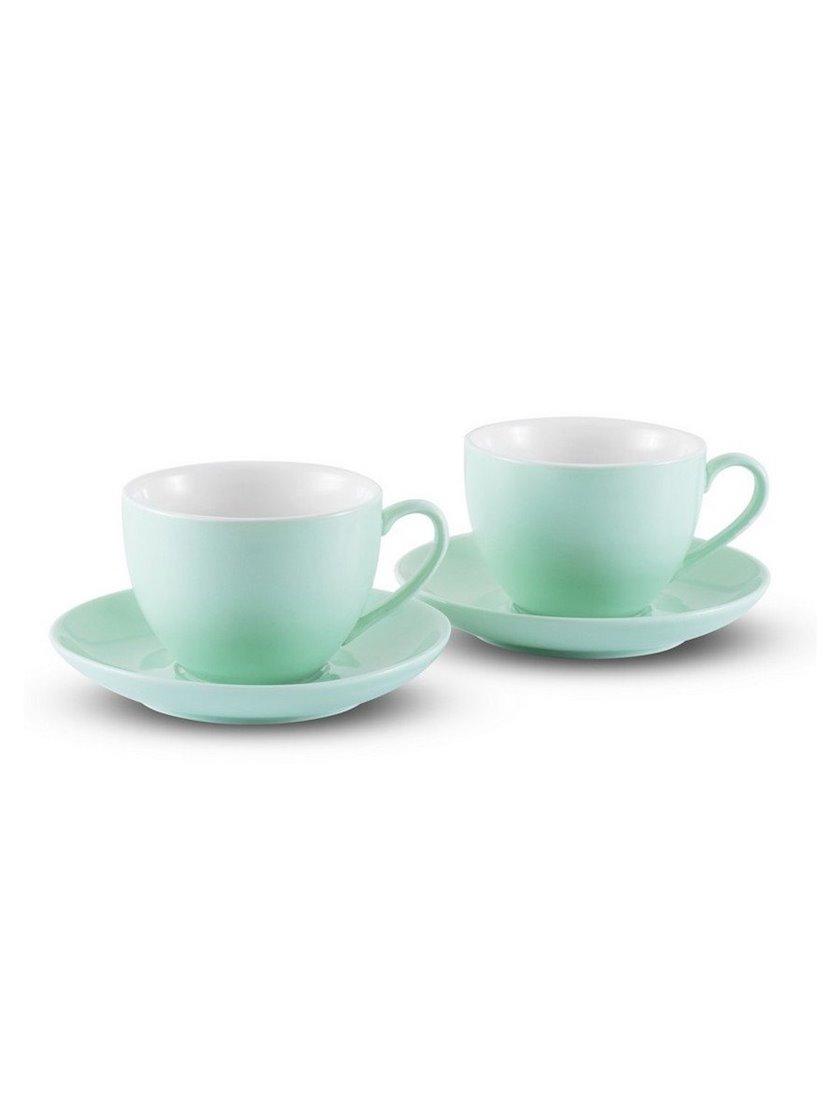 Çay dəsti Gipfel MARIANNI 7176 2 fincan 250ml, 2 nəlbəki, Material: keramika