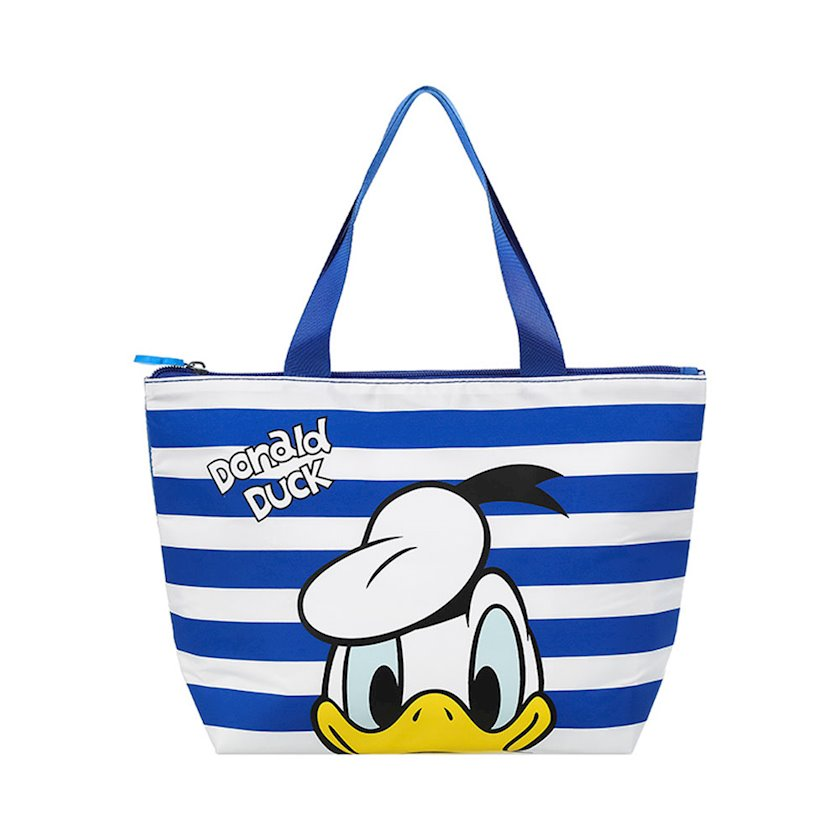 Çanta Miniso Donald Duck Collection T-shaped Bento Bag (Blue), 31x11x21 sm