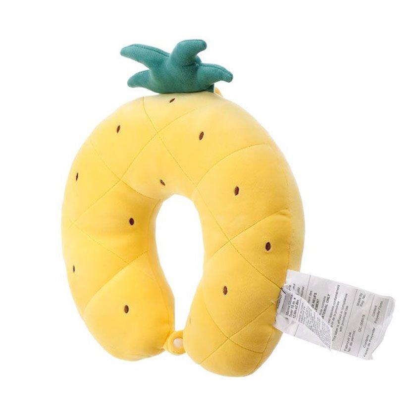 U şəkilli boyun yastığı və göz maskası Miniso Fruit Series-Eye Mask (Pineapple)