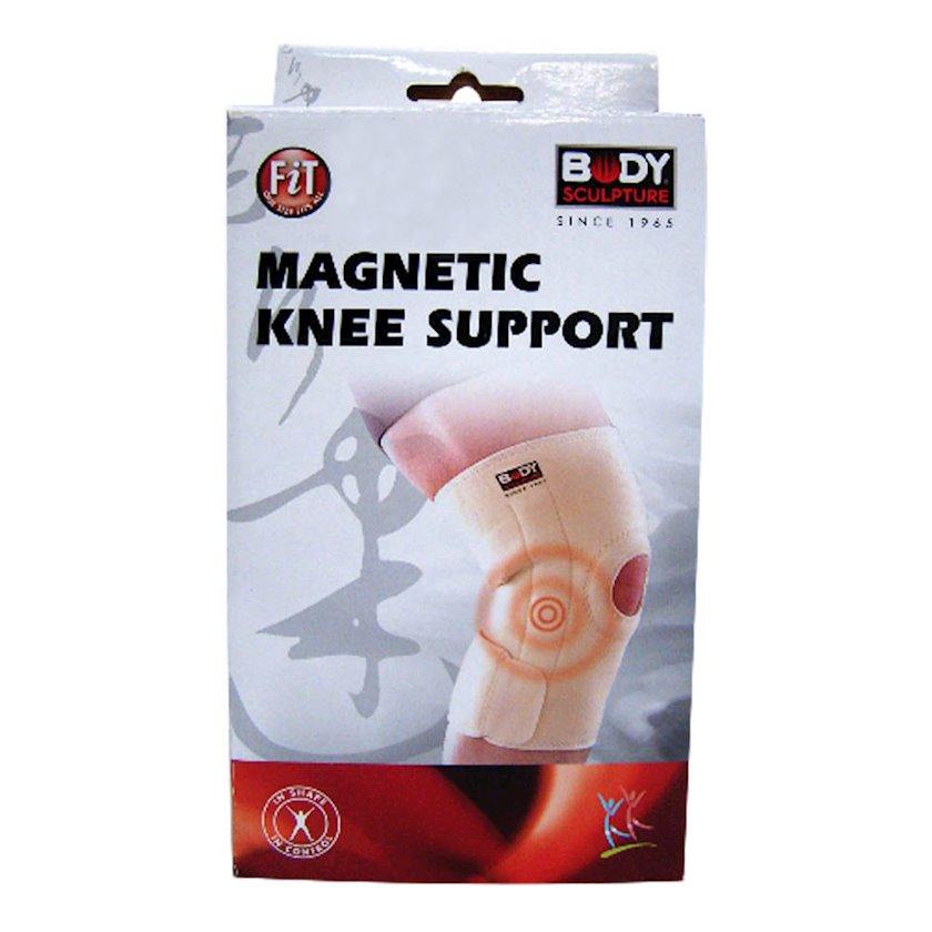 Diz dəstəyi Body Sculpture Solex Magnetic Knee Support, Bej, Ölçü universal