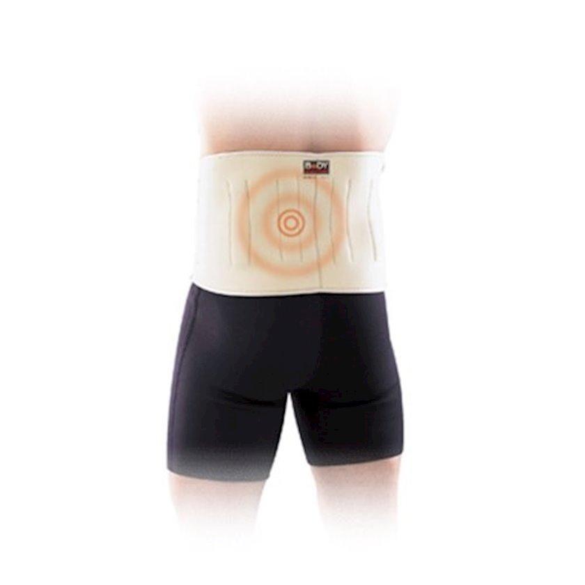 Bel dəstəyi Body Sculpture Solex Magnetic Knee Support, Bej, Ölçü universal