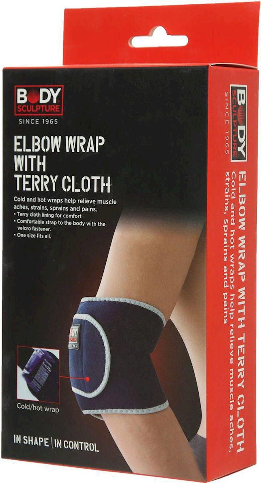 Dirsək dəstəyi Body Sculpture Elbow Wrap With Terry Cloth P24, Ölçü universal