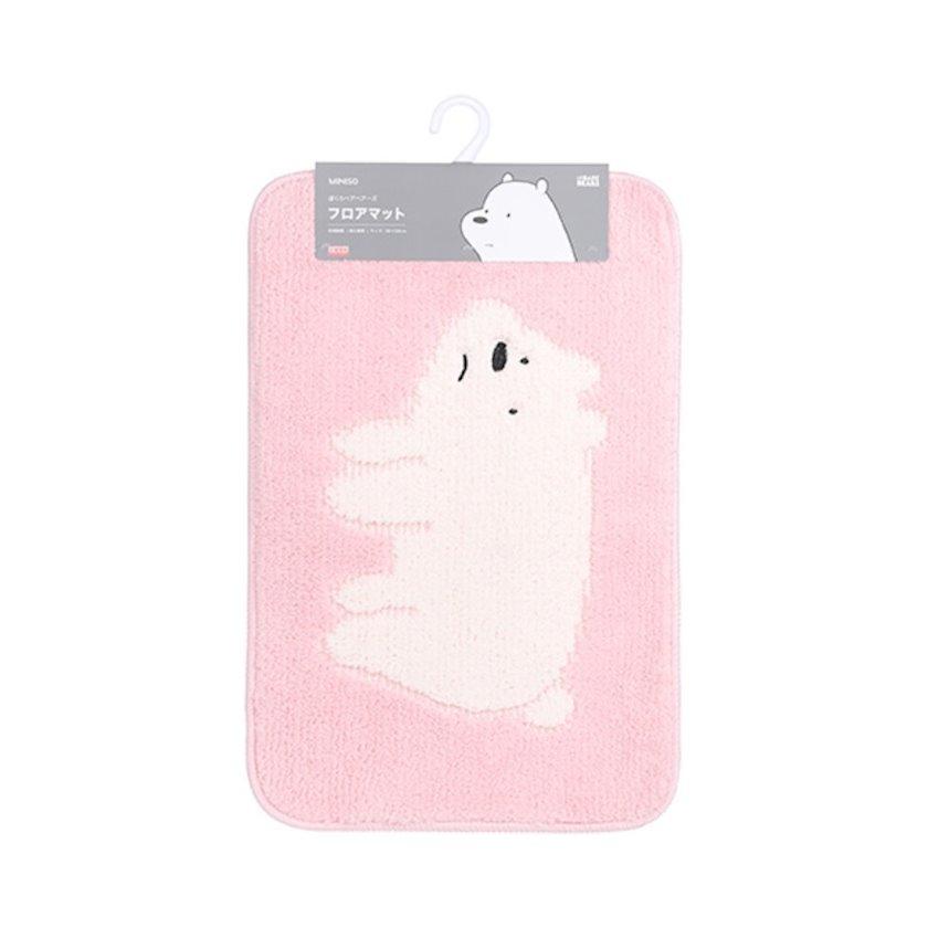 Döşəmə üçün xalı We Bare Bears-Cartoon Mat(Pink)