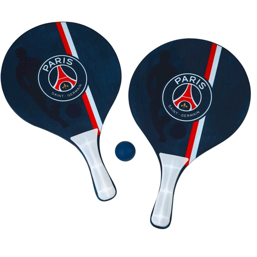 Oyun dəsti  License Çimərlik tennisi, top ilə BEACH BALL PSG