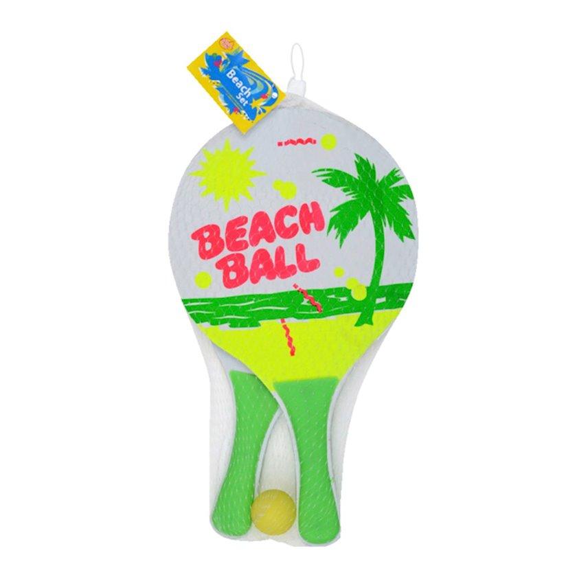 Plyaj tennisi üçün raketlər dəsti Sans Raquettes de beach ball