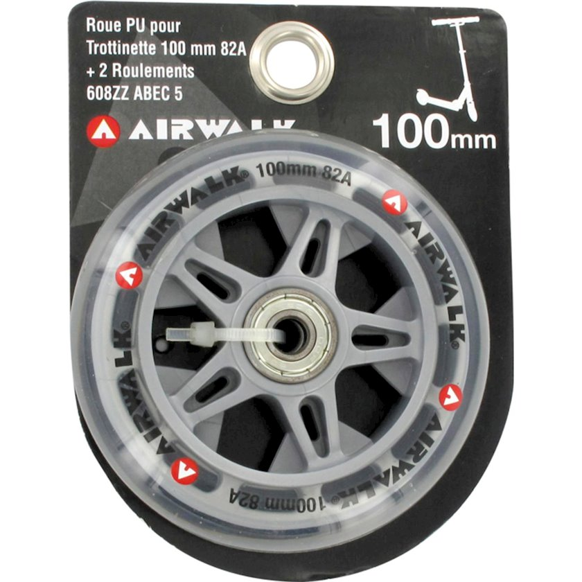 Təkər AIRWALK ROUE TROT + RLTS ABEC 5, diametr 100 mm, sərtlik 82 A