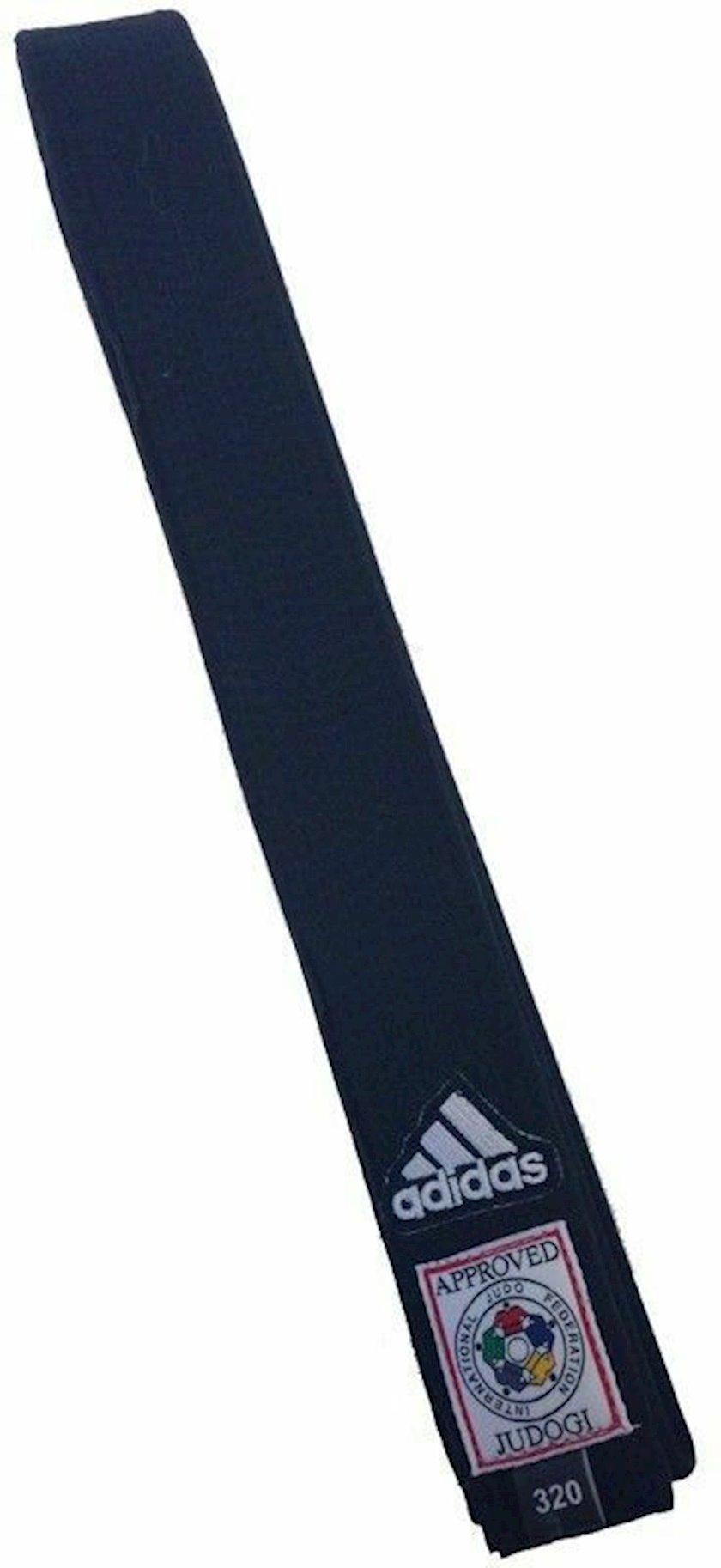 Cüdo üçün kəmər Adidas Elite IJF qara, uzunluq 340 sm