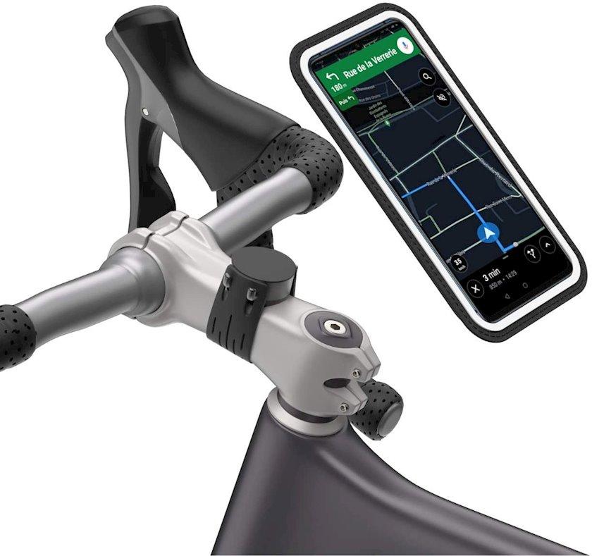Velosiped sükanı üçün telefon tutacağı Shapeheart Support Magnetique Smart XL 1473857