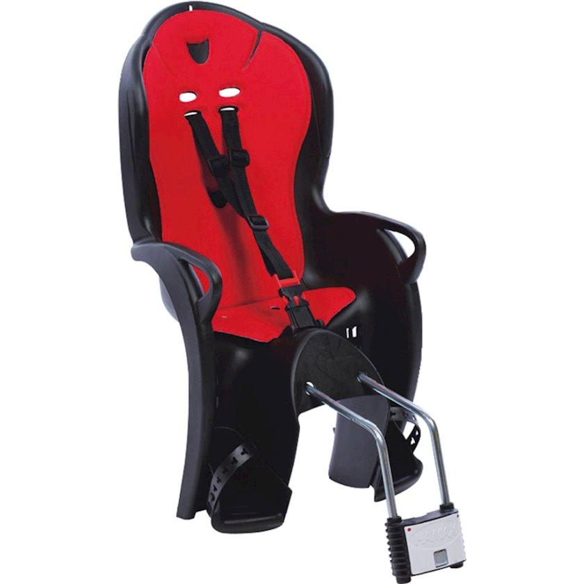 Velosiped üçün uşaq oturacağı Hamax Kiss Black/Red, Ölçü 48sm х 38sm х 70 sm