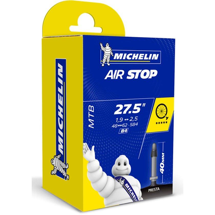 Velosiped kamerası Michelin Airstop B4, 27.5 düym, 40 mm