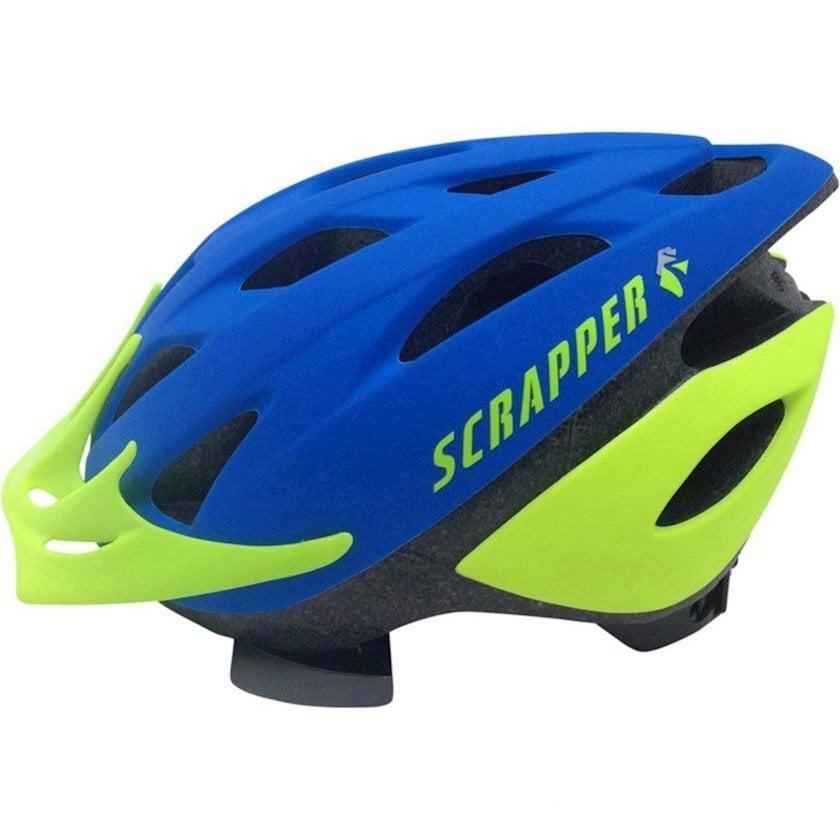 Uşaq velosiped dəbilqəsi Scrapper Sport 8, 4-12 yaş oğlanlar üçün, başın çevrəsi 50-54 sm