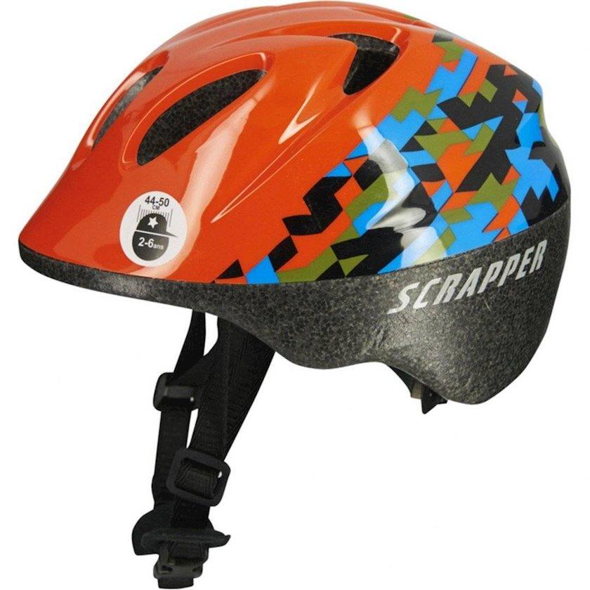Uşaq velosiped dəbilqəsi Scrapper Baby Boy Helmet 8, 12 aydan oğlanlar üçün, başın çevrəsi 46-50 sm
