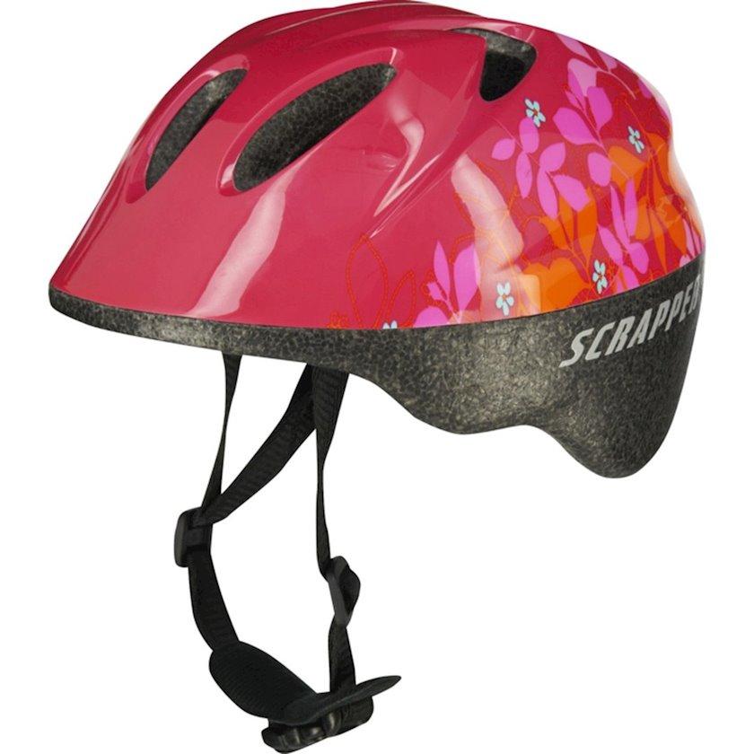 Uşaq velosiped dəbilqəsi Scrapper Baby Girl Helmet 8, 12 aydan qızlar üçün, başın çevrəsi 46-50 sm