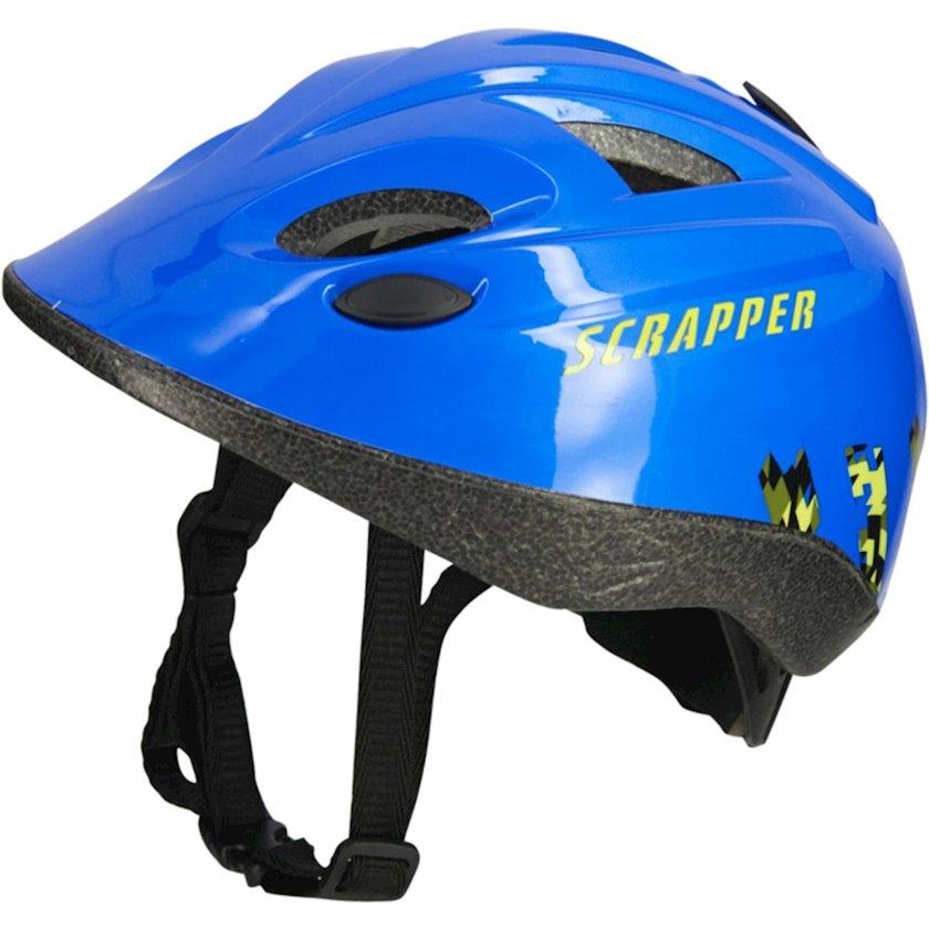 Uşaq velosiped dəbilqəsi Scrapper Mixty 8, 4-12 yaş oğlanlar üçün, başın çevrəsi 47-53 sm