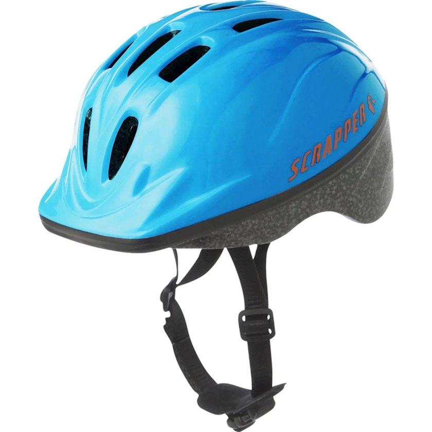 Uşaq velosiped dəbilqəsi 1ER PRIX Cyc Bsc Blue, 4-12 yaş uşaqlar üçün, başın çevrəsi 48-52 sm