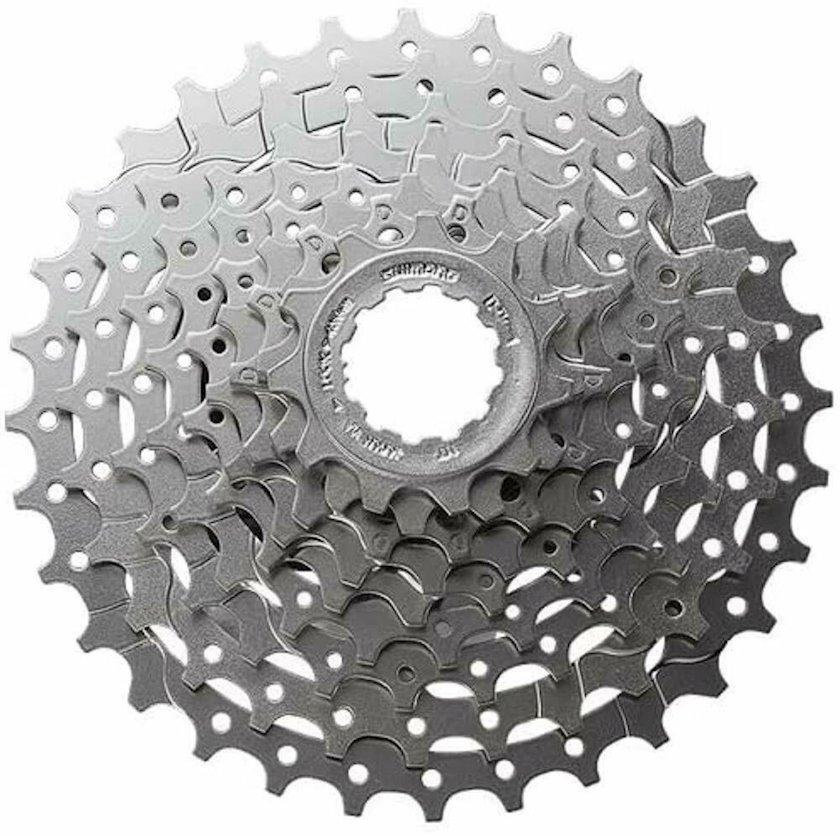 Sürət kaseti Shimano Deore HG50 11/32 Mixed Cyclosport, 9 sürətli, Boz