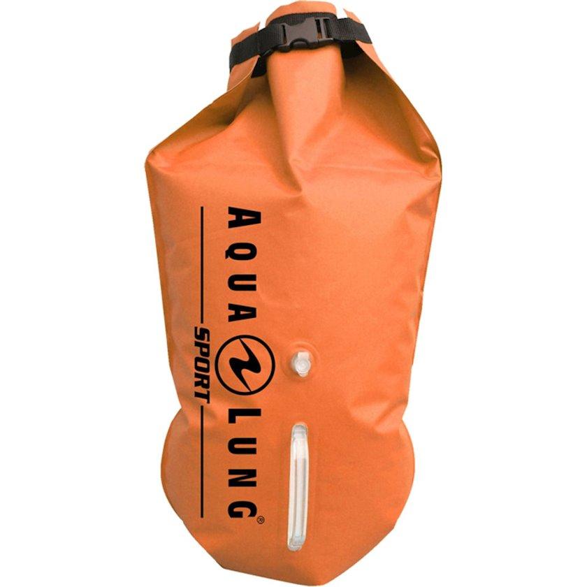 Şnorkel çantası Aqualunq Sac Etanche Flottant, Narıncı