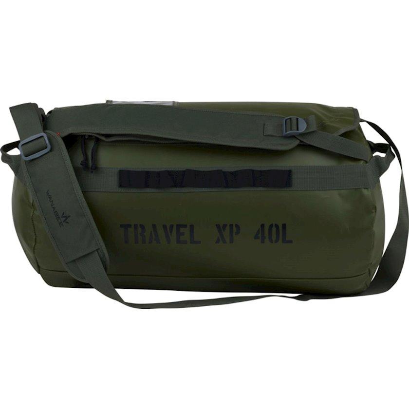Trekkinq bel çantası Wanabee Xp 40, Uniseks, Yaşıl, Həcm 40 l, 26 sm х 57 sm х 30 sm, 930 q