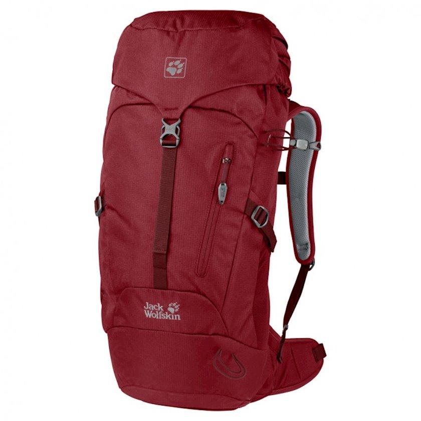 Trekkinq bel çantası Jack Wolfskin Astro Pack 26 Red Maroon, Uniseks, Qırmızı, Həcm 26 l, 58 sm х 25 sm х 18 sm, 1160 q